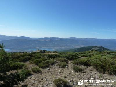 Cuerda Larga desde Pico del Nevero - visitas alrededores de Madrid; club montaña madrid
